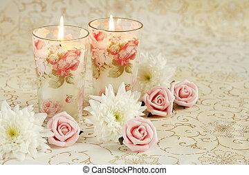 kerzen, romantische