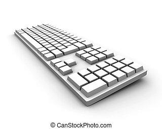 Keyboard - weiß
