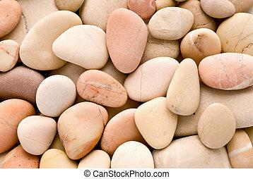 kieselsteine, warm