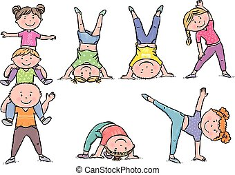 Kinder Aerobic