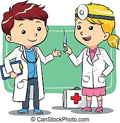 kinder, doktor
