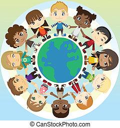 Kinder in Einheit