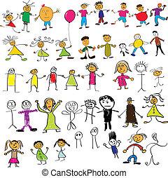 Kinder mögen Zeichnungen