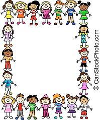 Kinder ohne Freundschaftsmuster 2.