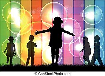 Kinder Silhouette.