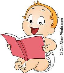 Kinderbuch-Baby.