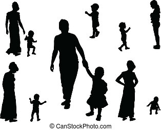 Kindersammlung - Vektor