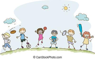 Kindersport.