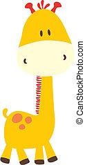 Kindische Giraffe