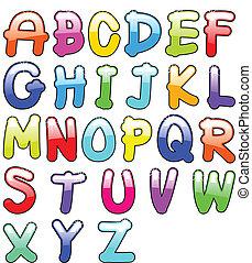 Kindisches Alphabet