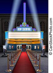 Kino- und Ticket-Box