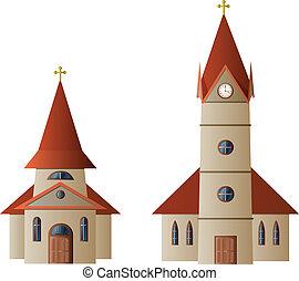 Kirche und Kapelle