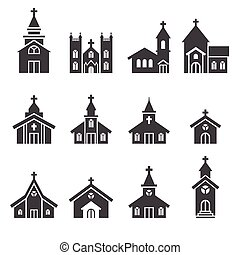 Kirchengebäude Ikone.
