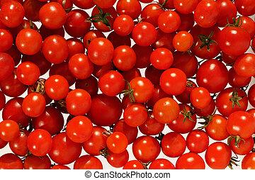 kirschen, tomato.