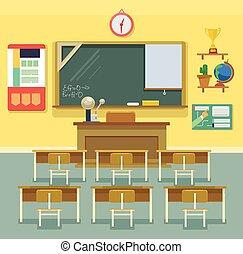klassenzimmer, schule