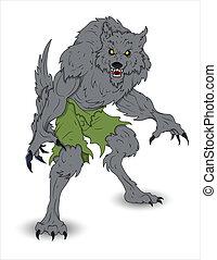 klassisch, werwolf
