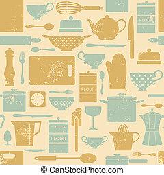 Klassisches Küchenmuster