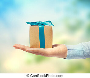 Kleine Geschenkdose.