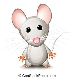 Kleine graue Maus
