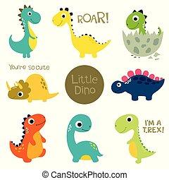 Kleine süße Dinos