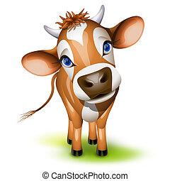 Kleine Trikot-Kuh