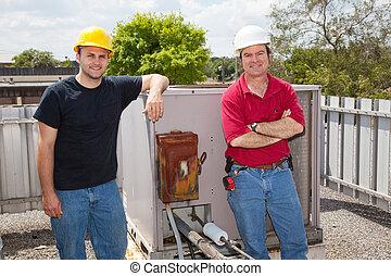 Klimaanlagenmechaniker