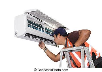 Klimaanlagenreparatur