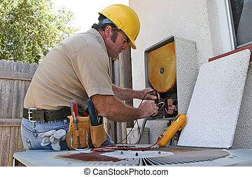 Klimaanlagenreparaturmann 3