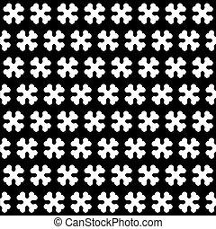 Knochen schwarz und weiß nahtlos