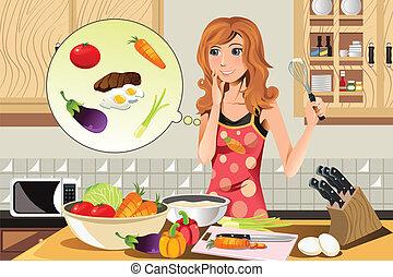 Kochfrau