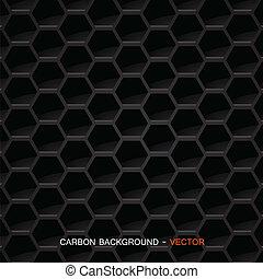 Kohlefaserstoff - Vektor.