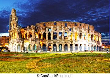 Kolosseum, Rom, Italien.
