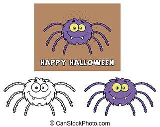 Komische Spinne. Sammlung