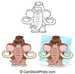 Komisches Mammut. Sammlung