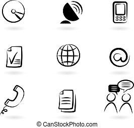 Kommunikations-Ikonen 2