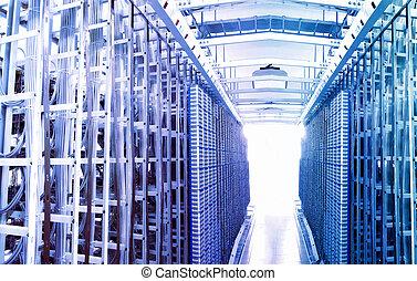 Kommunikations- und Internet-Serverraum