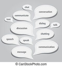 Kommunikationsbläschen