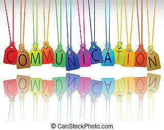 Kommunikationsschilder