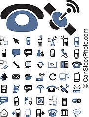 Kommunikationszeichen, Vektor