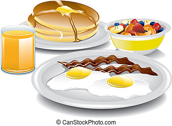 Komplettes Frühstück.