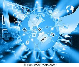 konnektivität, global