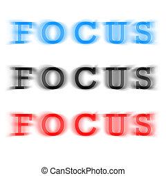 Konzentrier dich