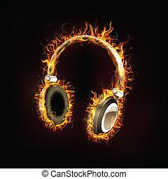 Kopfhörer brennen