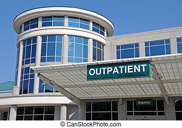 Krankenhaus ambulanter Eingang