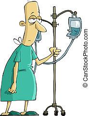 Krankenhauspatient