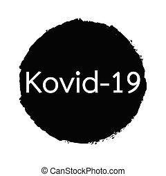 krankheit, covid-19, genannt, zeichen, coronavirus