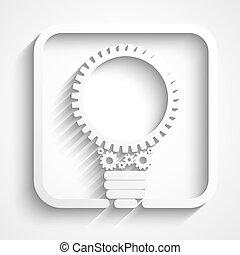 Kreative Glühbirne