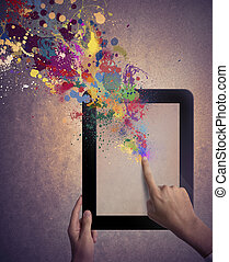 Kreative Technologie
