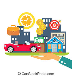 Kredit-Leasing-Hypotheke