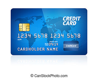 kreditkarte, freigestellt
